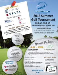 Golf Summer 2015 Flyer Final