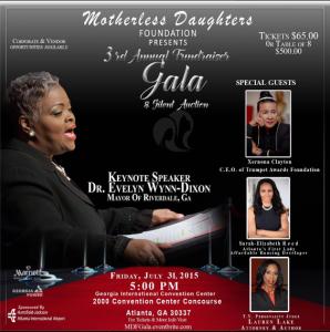 Motherless Daughters gala 2015