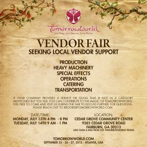 Seeking Vendors 07-09-15